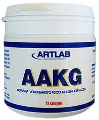 Аминокислота AAСG ARTLAB - 100% L-аргинин альфа кето-глютарат 72 капсулы