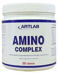 Аминокислоты Amino Complex Artlab 250 таблеток