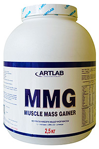 Muscle Mass Gainer Artlab 2,5 кг