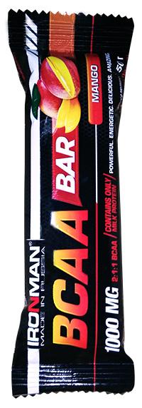 Протеиновый батончик BCAA Bar IRONMAN 50 грамм