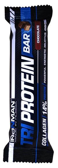 Протеиновый батончик Tri Protein Bar IRONMAN 50 грамм