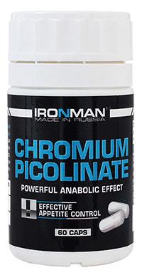Сжигатель жира Пиколинат Хрома IRONMAN 60 капсул