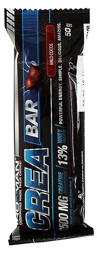 Протеиновый батончик Crea Bar IRONMAN с креатином 50 грамм