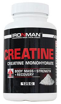 100% Креатин Моногидрат IRONMAN 125 грамм