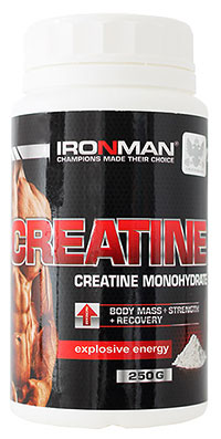 Creatine Monohydrate IRONMAN 250 грамм