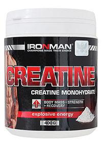 Creatine Monohydrate IRONMAN 400 грамм