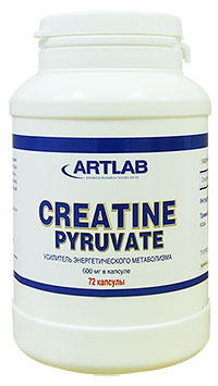 Creatine Pyruvate ARTLAB 72 капсулы