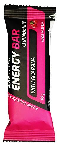 Протеиновый батончик Energy Bar XXI Power с гуараной 40 грамм