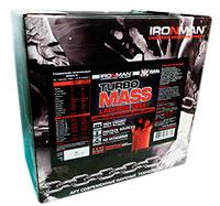 Гейнер Турбо Масс без лактозы IRONMAN 2,8 кг