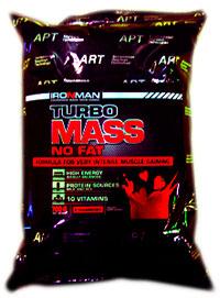 Гейнер Турбо Масс без жира IRONMAN 700 грамм