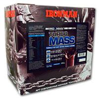 Высокоуглеводный гейнер Турбо Масс IRONMAN  2,8 кг