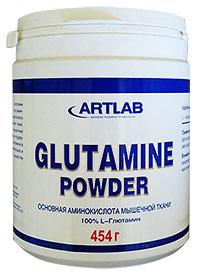 Аминокислота Glutamine Powder ARTLAB 454 грамма