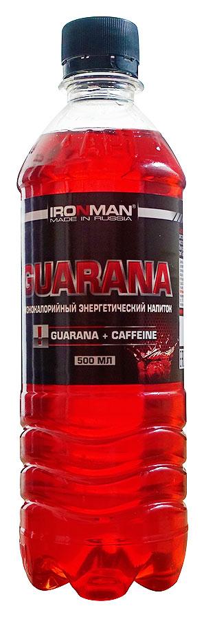 Спортивный напиток Гуарана IRONMAN без газа 500 мл