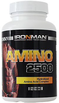 Аминокислоты Амино 2500 IRONMAN 72 таблетки