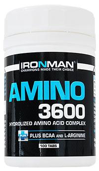 Аминокислоты Амино 3600 IRONMAN 100 таблеток