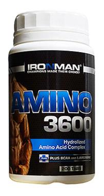 Аминокислоты Амино 3600 IRONMAN 200 таблеток