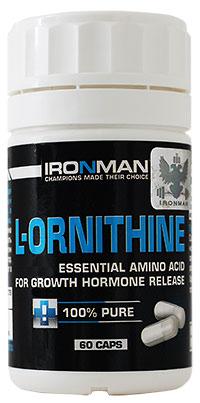 Аминокислота L-Орнитин IRONMAN 60 капсул