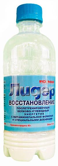 Сухой спортивный напиток Лидер Восстановление IRONMAN 250 мл