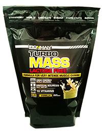 Гейнер Турбо Масс без лактозы IRONMAN 700 грамм