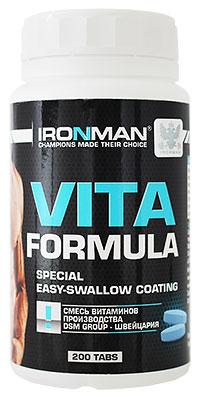 Витамины Вита формула IRONMAN 200 таблеток