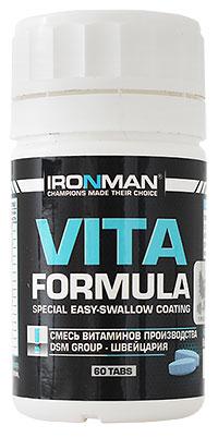 Витамины Вита формула IRONMAN 60 таблеток