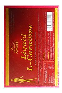 Сжигатель жира Liquid L-Carnitine LadyFitness 7 флаконов по 25 мл
