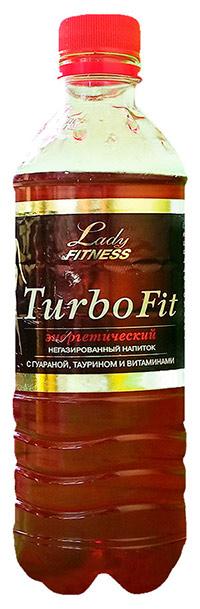 Спортивный напиток Turbo Fit LadyFitness 500 мл