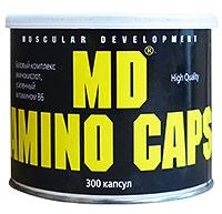 Аминокислоты MD Amino Caps 300 капсул