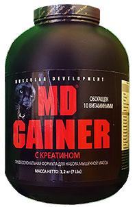 MD Gainer с креатином 3,2 кг