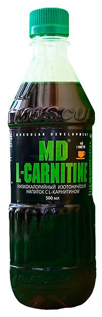 Спортивный напиток L-карнитин MD 500 мл - Чай с лиметтой