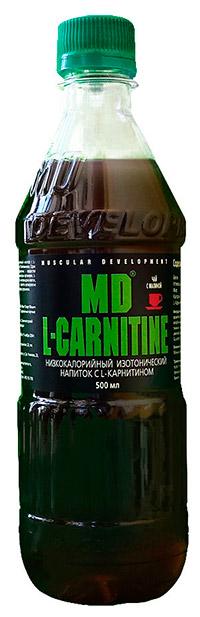 Спортивный напиток L-карнитин MD 500 мл - Чай с малиной