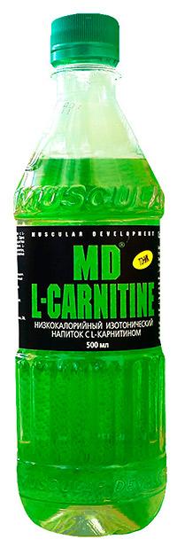 Спортивный напиток L-карнитин MD 500 мл - Тоник