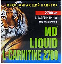Сжигатель жира Liquid L-Carnitine 2700 MD  10 флаконов по 25 мл
