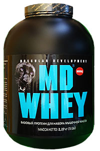 MD WHEY Протеин 2,27 кг