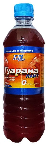 Спортивный напиток Гуарана Лайт XXI Power без газа, 500 мл