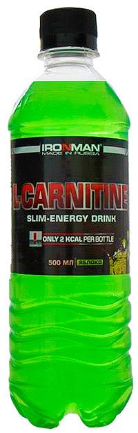 Спортивный напиток L-карнитин IRONMAN без газа 500 мл