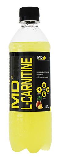 Спортивный напиток L-карнитин MD 500 мл - Ананас и грейпфрут