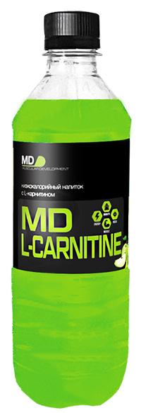 Спортивный напиток L-карнитин MD 500 мл - Яблоко