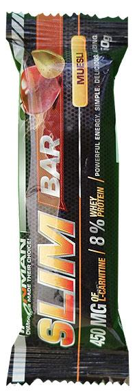 Протеиновый батончик Slim Bar IRONMAN с L-карнитином 50 грамм