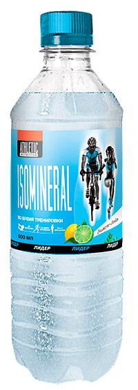 Спортивный напиток Лидер Изоминерал Athletic Nutrition слабогазированный 500 мл