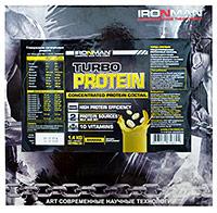 Гейнер Турбо Протеин IRONMAN 1,4 кг