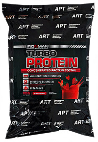 Купить Turbo Protein IRONMAN 700 грамм