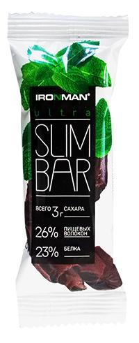 Протеиновый батончик Ultra Slim Bar IRONMAN 40 грамм