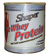 Купить PURE WHEY PROTEIN SHAPER 750 грамм