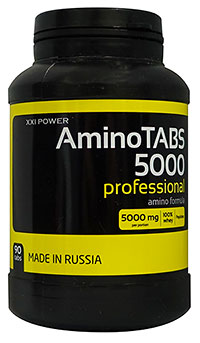 Аминокислоты Amino Tabs 5000 XXI Power 90 таблеток