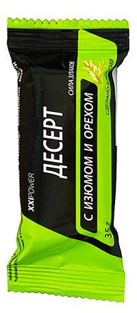 Десертный батончик XXI Power с изюмом и миндалем 35 грамм