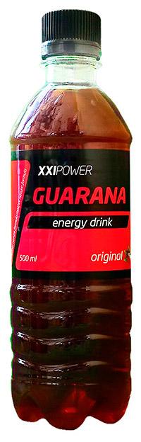 Спортивный напиток Гуарана XXI Power газированный, 500 мл