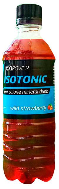 Напиток изотонический XXI Power 500 мл - Земляника