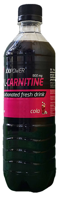 Спортивный напиток L-карнитин XXI Power газированный 500 мл - Кола