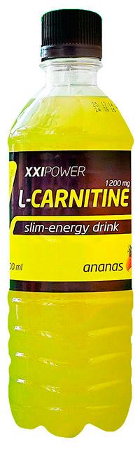 Спортивный напиток L-карнитин XXI Power 500 мл - Ананас, без газа